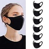 YMHPRIDE 6 mascarillas de boca unisex antipolvo, antipolvo,...