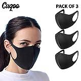 CUQOO - 3 máscaras Antipolvo para la Boca, Reutilizables,...