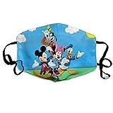 Donald Duck - Máscara de boca de Mickey Mouse y Goofy...