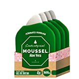 Moussel Gel Ducha Aloe Vera - Pack de 4 x 900 ml - Total:...