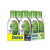 Dettol - Gel hidroalcoholico higienizante de manos - 50 ml x...