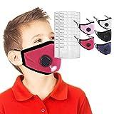IUTE 5 Faciales Protectoras Algodon Reutilizables con 20...