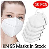 10 PCS Sport Face Mask with Filter Activated Carbon PM 2.5...