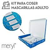 Kit para coser mascarillas Meryl Skinlife® Force de 100...