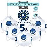 Mascarillas FFP3 (5x) Fabricado en la UE - Mascarilla CE...