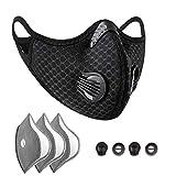 Máscara para Bicicleta con Válvula de Respiración, Filtro...