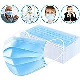 Accesorios faciales desechables de 3 capas, para protección...